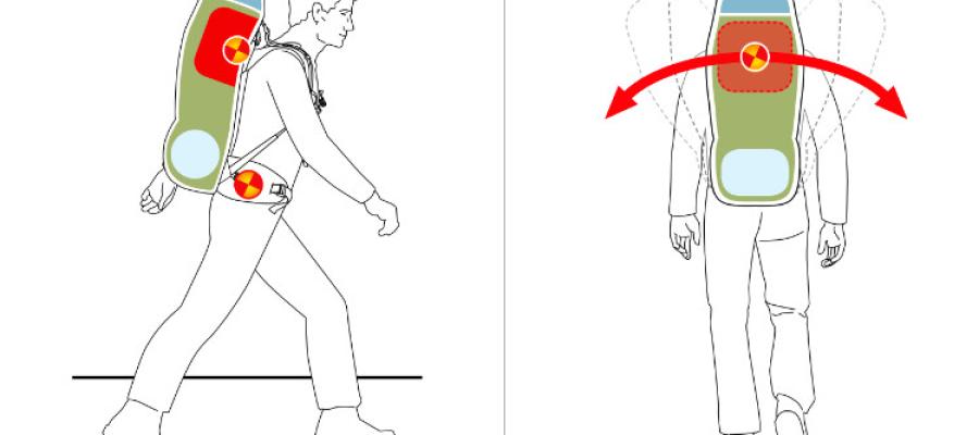 Cuidados com a carga na sua mochila